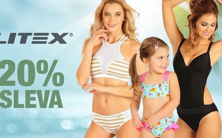 Sleva 20 % do e-shopu Litex: plavky i spodní prádlo