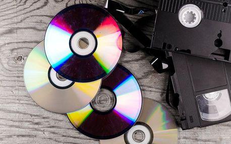 Sbohem, kazety: přepis videa z VHS na DVD