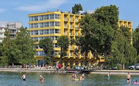 3* Hotel Lido se snídaní přímo u Balatonu