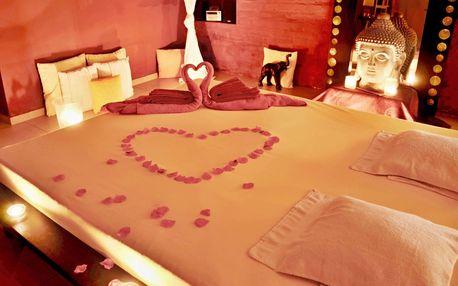 Společná romantika s masáží v privátním wellness pro dva ve Vršovicích