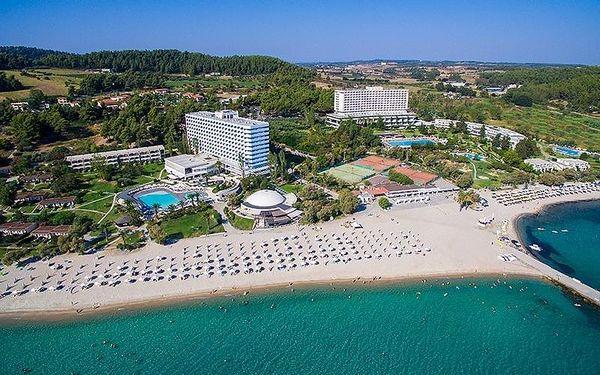 Pallini Beach, Chalkidiki, Řecko, Chalkidiki, letecky, all inclusive2