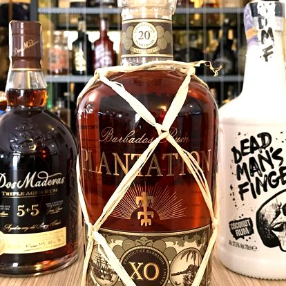 Řízená degustace 5 světových rumů pro 1–4 osoby