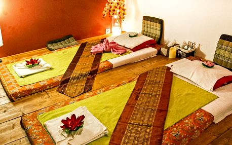 Relaxace pro dva: thajská olejová masáž, 60–90 min.