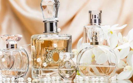 Degustace až 80 parfémů a výroba vlastní vůně