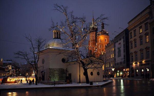 Adventní trhy v Krakově, Krakov, autobusem, bez stravy2