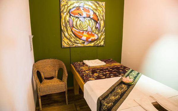 Thajská olejová masáž pro 2 osoby (60 min.)2