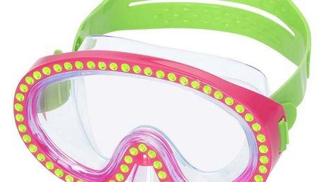 Bestway Potápěčské brýle Sparkle, růžová