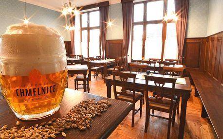Zlínsko: jídlo i pivní lázeň či relaxační balíček