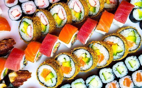 101 ks sushi ze Stodolní s sebou: losos i krab v tempuře