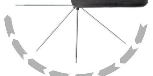 Cattara Grilovací skládací teploměr, 17 cm3