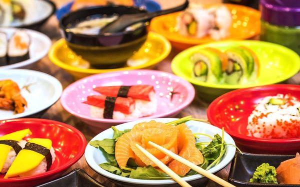 2 hodiny running sushi: neomezená konzumace