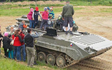 Malý tankový den ve Vojenském muzeu Králíky