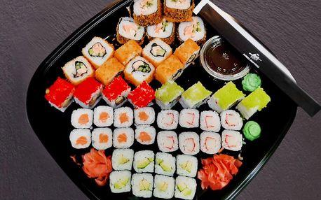 Dva vyladěné sushi sety kousek od centra Brna