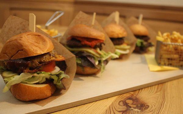 Burgerové degustační menu s hranolky4