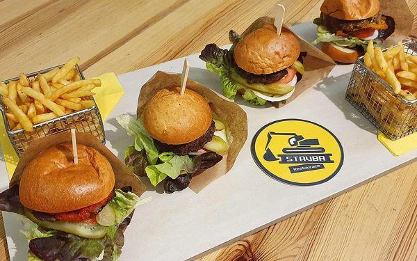 Burgerové degustační menu s hranolky5