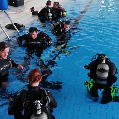 Zkušební ponor v bazénu pro 1 či 2 osoby vč. přednášky