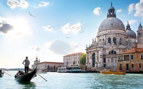 Zájezd do Itálie: koupání v Lignanu a Benátky