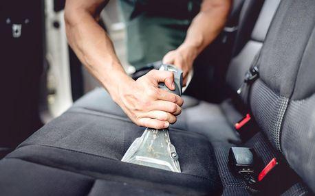Čisté auto: tepování sedadel a dezinfekce ozonem
