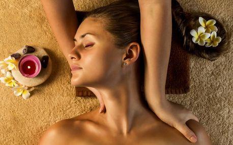 Hodinová masáž: thajská, akupresurní nebo čokoládová