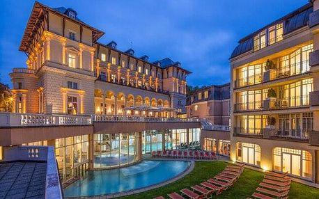 Mariánské Lázně: Luxusní Falkensteiner Spa Resort ***** s polopenzí, wellness s bazény a léčebnou koupelí