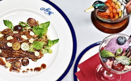 Restaurace U Modré kachničky: voucher až na 2000 Kč