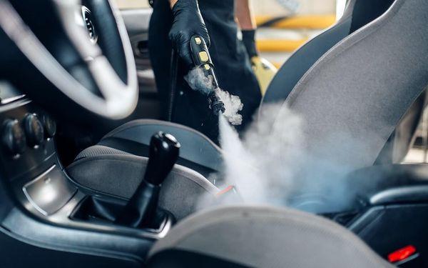 Tepování sedadel a dezinfekce ozonem4