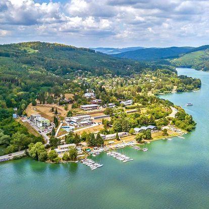 Pobyt přímo u Brněnské přehrady s polopenzí