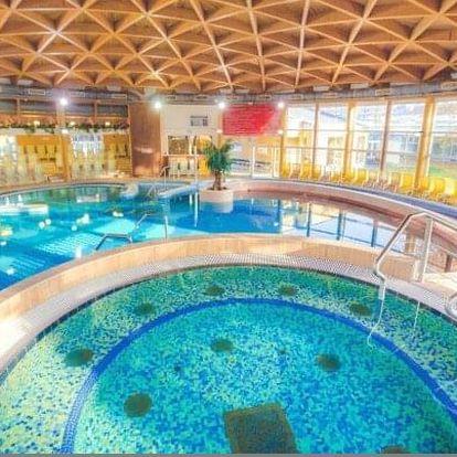 Maďarsko blízko lázní Bükfürdo v Danubius Hotel Bük **** s all inclusive a neomezeným wellness + dítě zdarma