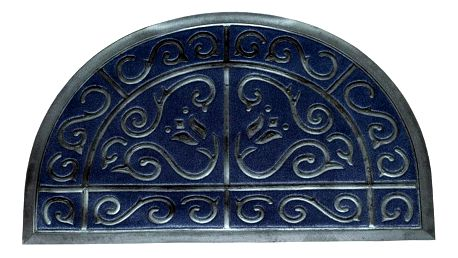FAVE Gumová rohožka, půlkruh, 50 x 80 cm