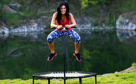 60min. lekce skákání na trampolínách pro 1 i 2