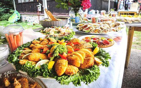Vouchery na catering: chlebíčky, obložené mísy, řízky