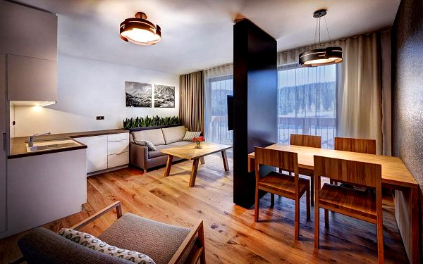 Víkend pro 4 os. 15.-17.10.2021 - Modern Apartmán Dvojspálňový Ubytovanie bez stravy*3