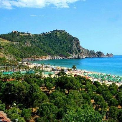 Turecko - Alanya letecky na 11-13 dnů, all inclusive