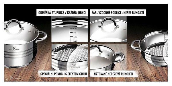 Blaumann 12dílná sada nádobí Gourmet Line3