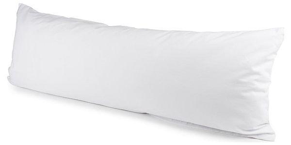4Home povlak na Relaxační polštář Náhradní manžel bílá, 50 x 150 cm, 50 x 150 cm3