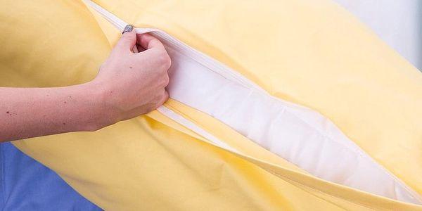 4Home povlak na Relaxační polštář Náhradní manžel bílá, 50 x 150 cm, 50 x 150 cm5