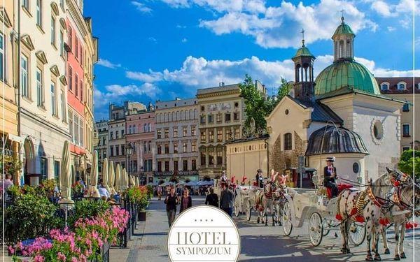 Krakov – pohodový wellness pobyt v nejkrásnějším městě Polska 4 dny / 3 noci, 2 osoby, snídaně4