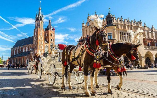 Krakov – pohodový wellness pobyt v nejkrásnějším městě Polska 4 dny / 3 noci, 2 osoby, snídaně