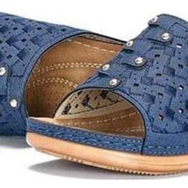 Dámské pantofle na platformě Pille - dodání do 2 dnů