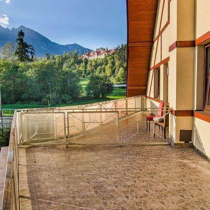 Hotel Tulipán *** jen 1 km od lanovky na Lomničák