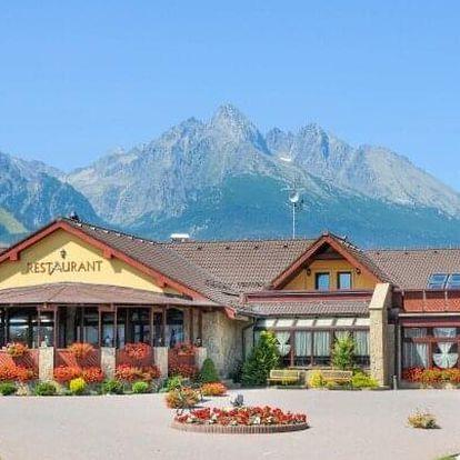 Vysoké Tatry: Hotel Amália *** s neomezeným wellness, bazénem a polopenzí + kulečník, slevy a dítě zdarma