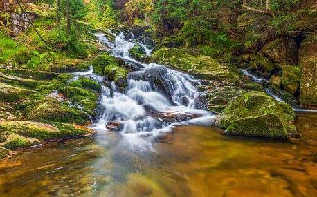 Krkonoše jen 2 km od Mumlavského vodopádu v Hotelu Fit Fun *** s neomezeným wellness a bazénem + polopenze