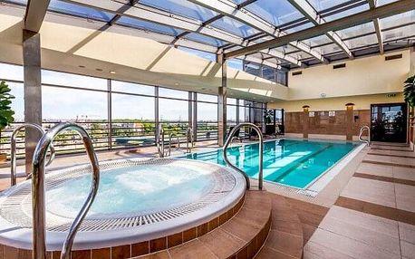 Krakov luxusně přímo v centru v Qubus Hotelu Kraków **** s neomezeným wellness (bazén, vířivka) a polopenzí