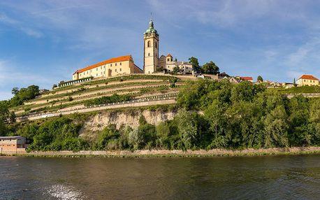 Vstupenka na prohlídku s průvodcem na zámek Mělník