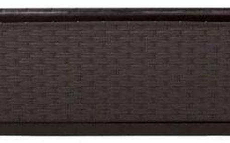 truhlík RATOLLA P 49,2x17,2x17,4cm HN tm. (440U) s miskou