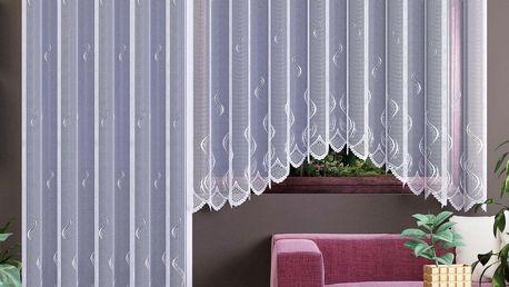 Forbyt Záclona Irma bílá, 280 x 130 cm