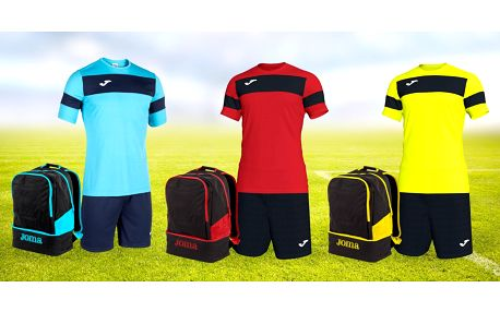 Sportovní set Joma: dres a trenky 8XS–3XL + batoh