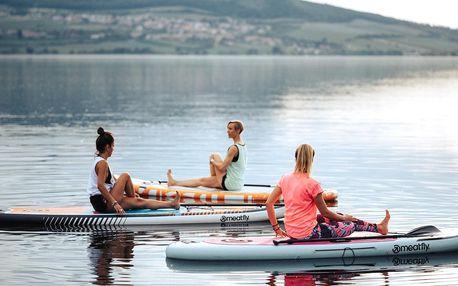 Zapůjčení paddleboardu na vodní nádrži Nové Mlýny