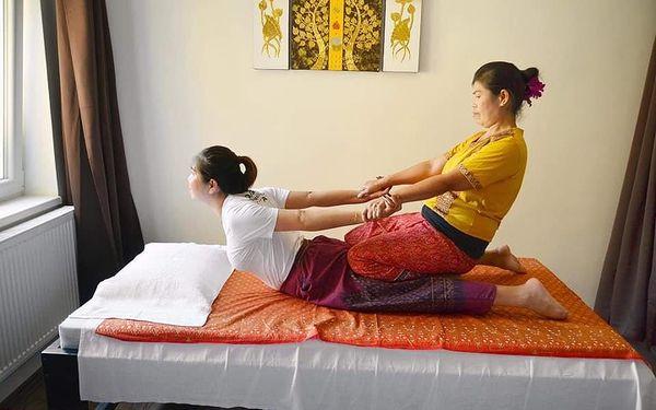 Tradiční thajská masáž (60 minut)3