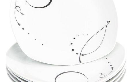 Mäser 6dílná sada mělkých talířů Chanson, 25 cm